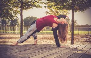 Yoga hier, Yoga da. Yoga ist hip!