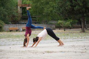 Workshop am 05.01.2020: Acro Thai Yoga Session mit Jennifer & Kay